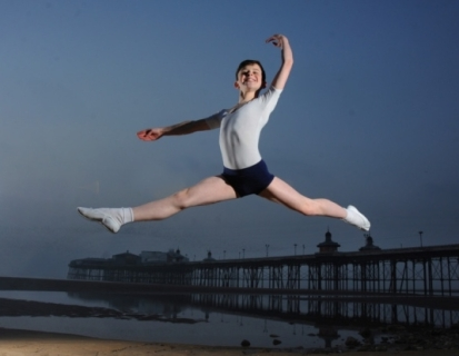 Brodie Donougher, 11, is one of only 12 boys from around the world to be given a place at the Royal Ballet School (photo by Neil Cross) 2014