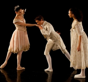 Peter Weil, 14,  as the Prince  - Behind the Scences at he Pennsylvania Ballet's Nutcracker 2011-02