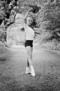 Charlie Taylor, 12, hopes to make a career as a dancer (Moorhouse Photo Studios) 2014