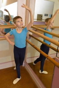 Lewis Bartholomew, 10, has been accepted for a place at the Elmhurst School of Dance (The Shropshire Star) 2014-01