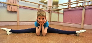 Lewis Bartholomew, 10,  has been accepted for a place at the Elmhurst School of Dance (The Shropshire Star) 2014-02