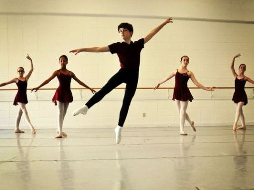 Ryan Ward, 12, has been offered scholarships to three summer intensives (Kara Casavan) 2014