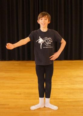 Joe Dearden, 14, English Youth Ballet (Keighley News) 2014