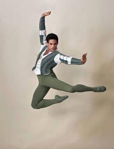 Yonah Acosta as Mercutio in English National Ballet's Romeo & Juliet