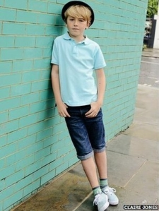 Ellis Jones, nine, says he might like to pursue a career in dance one day (Claire Jones) 2014
