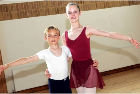 Madison (14)and Ethan (10) Bailey will both be attending Royal Ballet School from September (Kent and Sussex Courier) 2014