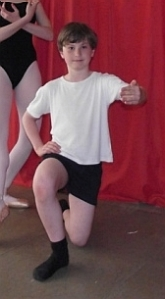 Vincent Ewart , 9, has been invited to join the Scottish Ballet Associate Programme 2014