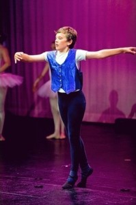 Wilf Sheppard, 11,  is set to perform with the National Youth Ballet (Photo by Ashley Holmes Photography) 2014