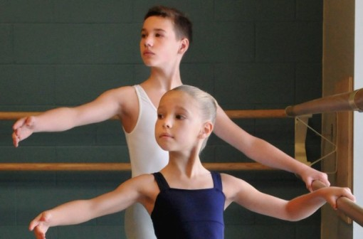 Aidan, 13, and Avery Grierson 11, are going to study full-time at Canada's National Ballet School (Metroland News Service) 2014