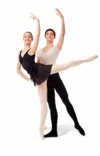 Ryan Vetter with a partner (Royal Winnipeg Ballet)