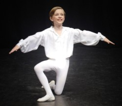 Benjamin Sears, 10, loves to dance (Worcester News) 2014