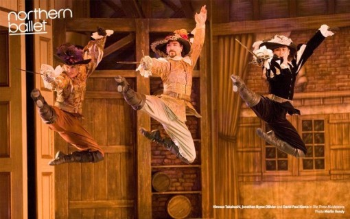 Northern Ballet's Three Musketeers (Northern Ballet)