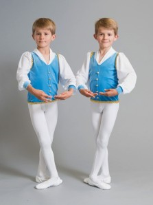 Twin brothers Ryder and Axel (Classical Ballet of Colorado)