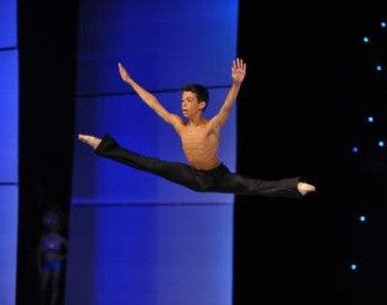 With his father's support Yiannis Ekonomou, 11, successfully auditioned for the Joffrey Ballet's Nutcracker 2014