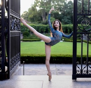 Gabriella Stilo, 15,  trains at the Orlando Ballet School (Luis Pons)
