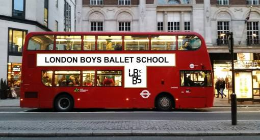 London Boys Ballet School 2014 advertising campaign (LBBS)