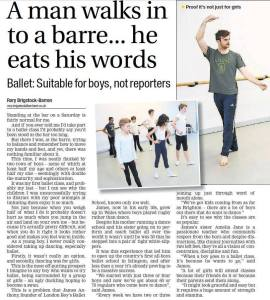 A Man walks into a barre...he eats his words 2014-01