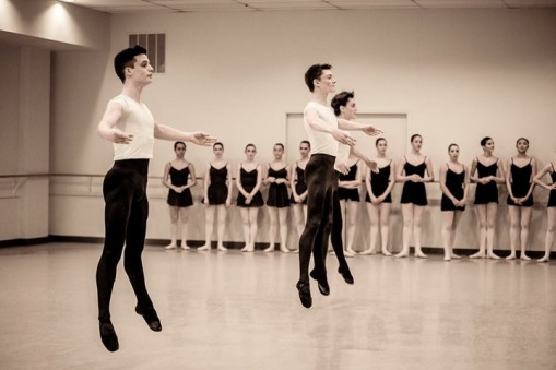 Boys flourish in ballet (Keith Gerling, Salt Creek Ballet) 2015