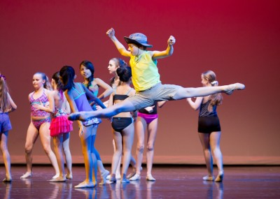 Dylan Calahan, 11, in Michigan Ballet Academy's Fishing boy 2015 (Jules K