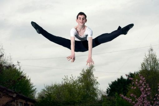 Gearoid Solan will be attending The Royal Ballet School this September 2015