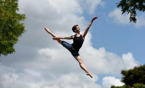 Harrison Lee, 15, back home in Castle Hill after winning the famed Prix de Lausanne (Steven Siewert) 2015