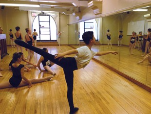 Jedidiah Harwood participating in masterclass intensive in New York City