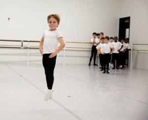 The School of Pennsylvania Ballet Boys' Class (Alexander Iziliaev) 2014