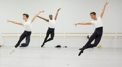 The School of Pennsylvania Ballet Men's Class (Alexander Iziliaev) 2014