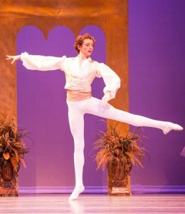 Aeden Conefrey performs in Olympic Ballet Theatre's Coppelia (Olympic Ballet Theatre)
