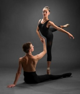Bangor Ballet's Zach Williams and Velstara Vardamis (Michael Hallahan, FinePrints Photo)