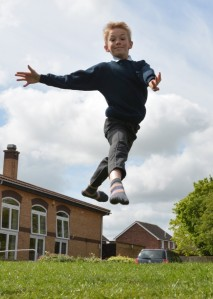 Ellis Gilbert, 10, has won a place at the Young Dancers Academy (Hunts Post) 2015