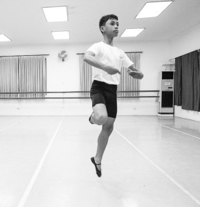 Jovit Dino, 17, at the Academy One Music and Dance Centre (South China Morning Post) 2015