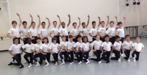 Maryland Youth Ballet Boys' Class (Maryland Youth Ballet) 2015