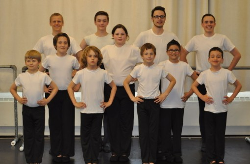 Pacific School of Dance's boys class (Pacific School of Dance)