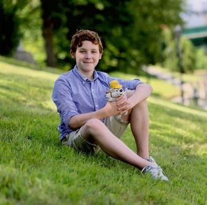 Benjamin Alexander, 12, is to perform with Cirque du Soleil during the opening ceremonies of the Toronto 2015 Pan Am Games (Chatham Daily News) 2015b
