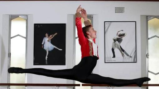 Thomas Gannon, 14, has just been selected to attend Australian Ballet School (Annika Enderborg) 2015