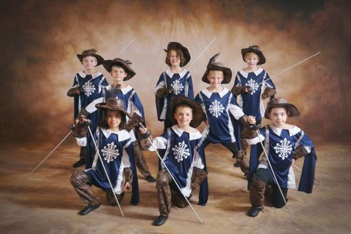 Boy Musketeers at En Pointe School of Ballet (En Pointe School of Ballet) 2015
