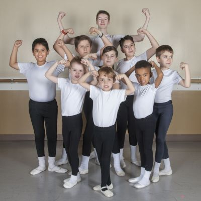 Boys at Gwinnett Ballet Theatre will flex their dancing muscles in GBT's Nutcracker (GBT) 2015