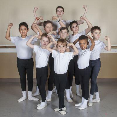 Boys at Gwinnett Ballet Theatre will flex their dancing muscles in GBT's Nutcracker (GBT) 2015