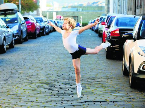 Jack Burns, 9, is a junior associates at the Scottish Ballet school (Greenock Telegraph)
