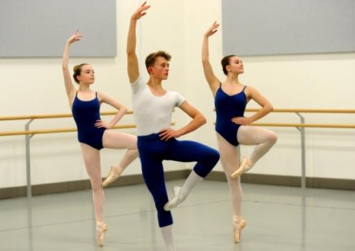Northern Ballet Academy class (Simon Hulme) 2015