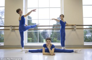 The Royal Ballet School fees cost £30,000 per year and only the best dancers are accepted (Lucy Ray Photography,The Daily Mail) 2015