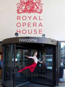 Julian MacKay leaps in front of the Royal Opera House in London (Jordan Matter) 2015