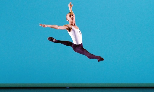 Leroy Mokgatle at the Genée International ballet competition (Elliott Franks, Royal Academy of Dance) 2015