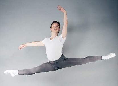 Ashton Roxander, 18, is competing in April in the International Youth Ballet Competition in New York (Studio Roxander)