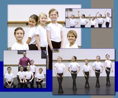 Boys Class at Paris Ballet and Dance (Paris Ballet and Dance) 2016