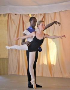 Joel Kioko and Lucile Plumbe (Dance Centre Kenya)