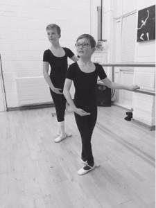 William Stokes, 9, and Mackenzie Jacob, 12, have successfully achieved distinctions (Gold) in their R.A.D. Classical ballet exams (2016)