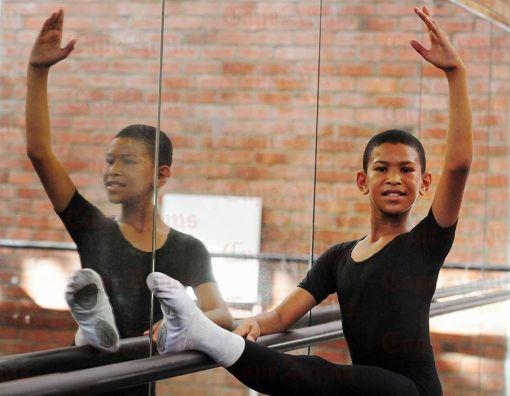 Faahkir Bestman, 11, at the Eoan Group School of Performing Arts (David Ritchie) 2016-01