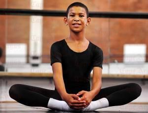 Faahkir Bestman, 11, at the Eoan Group School of Performing Arts (David Ritchie) 2016-05